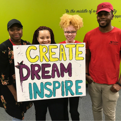 Art Institute of Atlanta Student Ambassadors at the At-Promise Youth Center Grand Opening