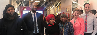 "Faculty members from The Illinois Institute of Art—Chicago participated in NBA player Dwayne Wade's ""Spotlight On event."