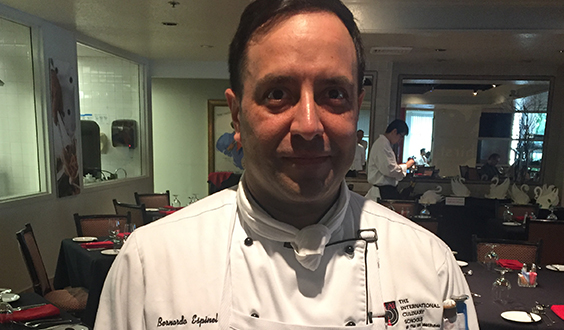 Carlos Espinal, Chef, Culinary, Culinary Whites, Man, Instructor