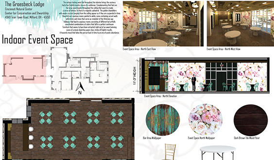 design board, interior design