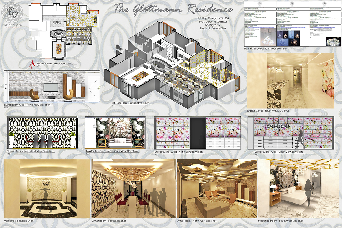 interior design, design board