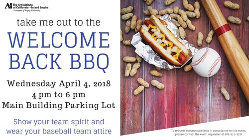 Welcome Back BBQ Spring 2018
