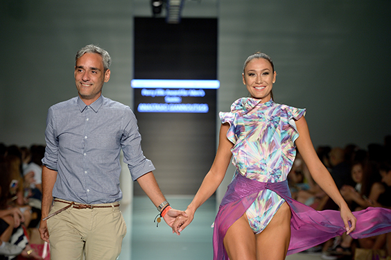 Alejandro Perez with model