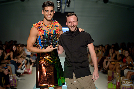 Anastasio Giannoutsos with Model