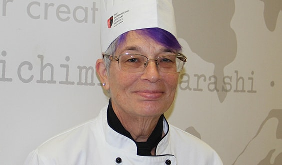 Culinary Faculty Member Amy Carter