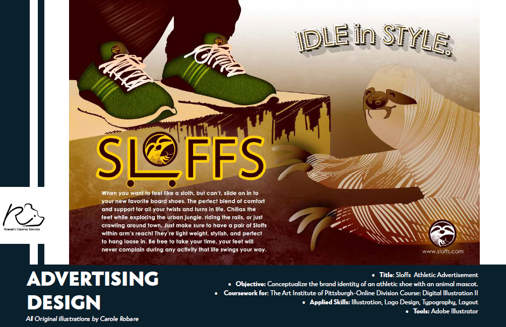 Sloffs Athletic Advertisement