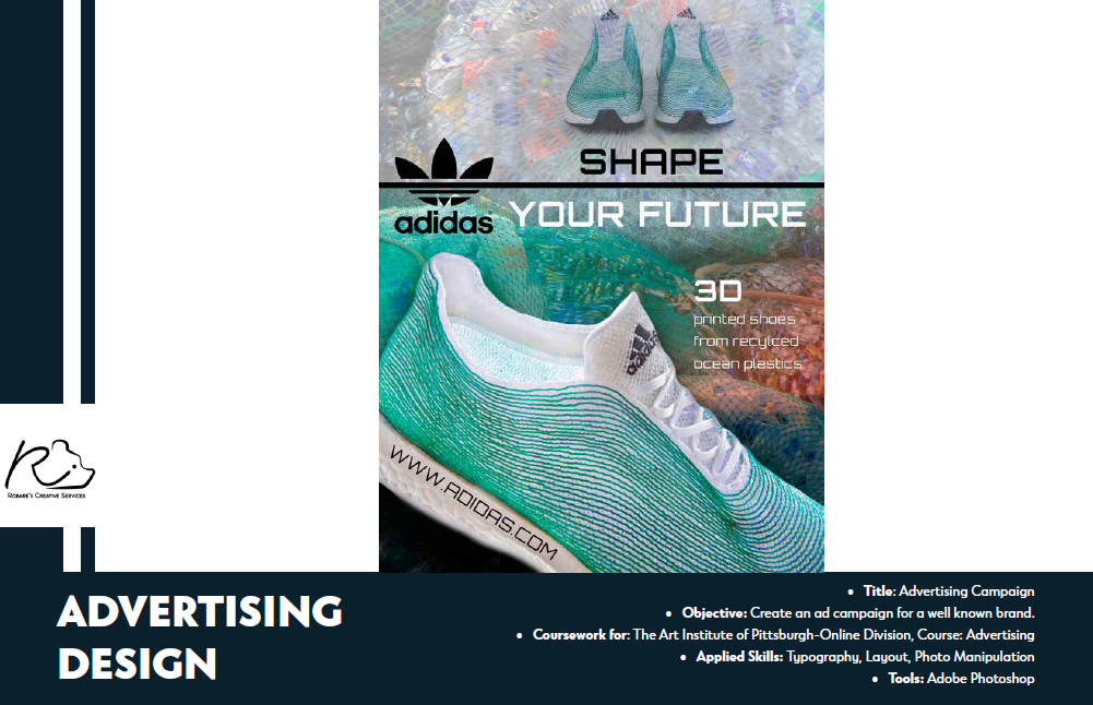 Adidas advertising design