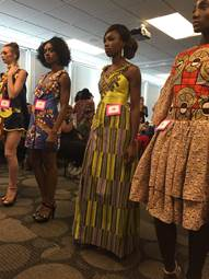 Houston Fashion Students Create Garments from African-style Printed Materials
