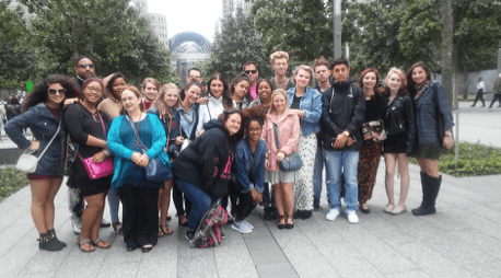 Fashion Students Experience NYC