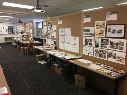 The Display Provides Insight Into The Work Done In Each Course In The Interior  Design Bachelor Of Fine Arts Program. The Art Institute Of San Antonio ...